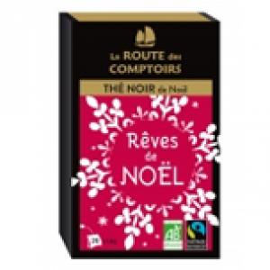 Thé Bio Reves de Noël - La route des Comptoirs